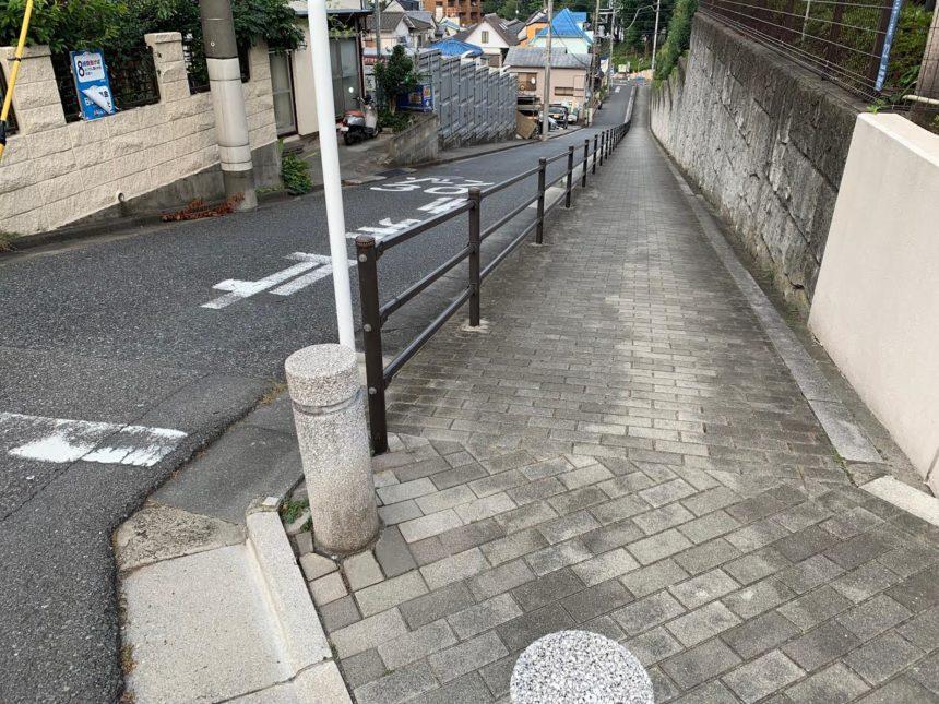 坂道インターバルトレーニング